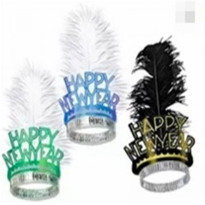 Tiaras Feather Happy New Year Party Kits
